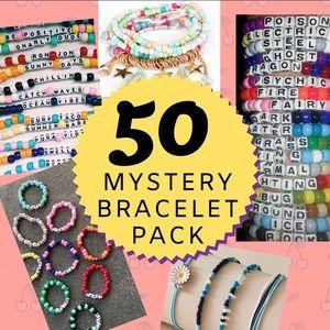 ☆MYSTERY BRACELET PACK (50 TOTAL)☆